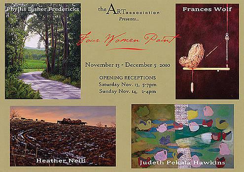 Invitational Exhibit Postcard by York Art Association