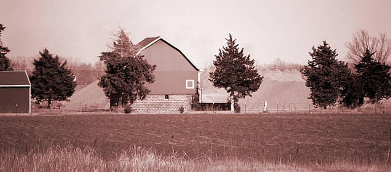 Iowa Landscape by Jame Hayes