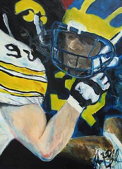 Jon Baldwin  Art - Iowa Vs Michigan