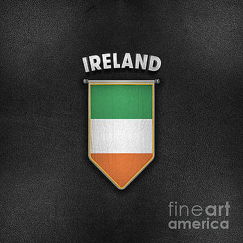 Ireland Pennant with high quality leather look by Carsten Reisinger
