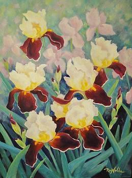 Iris Garden Dance by Carol Reynolds