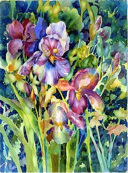 Iris II by Ann  Nicholson