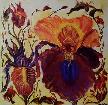 Iris by Keith Zudell