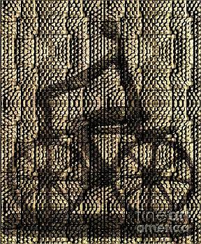 Iron Bicycle in Mosaic by Janette Boyd
