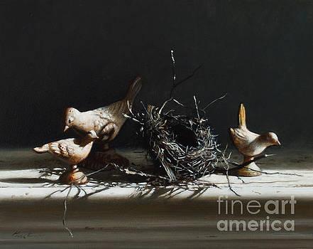 Iron Birds Spring by Larry Preston