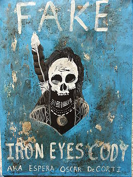 Iron Eyes Cody by G Oktober