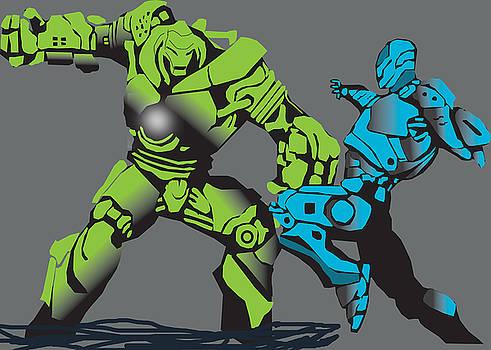 Ironman vs. Ironmonger by Michael Chatman