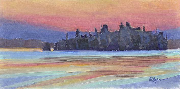 Island Dusk by Mary Byrom