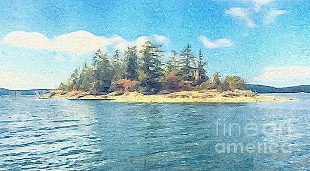 Island in the Sound by William Wyckoff
