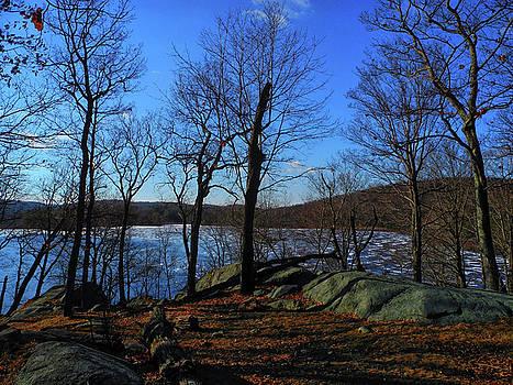 Island Pond in Harriman State Park Along the Appalachian Trail by Raymond Salani III
