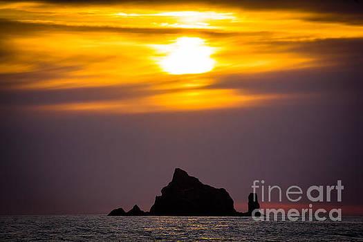 Island Sunset by Joan McCool