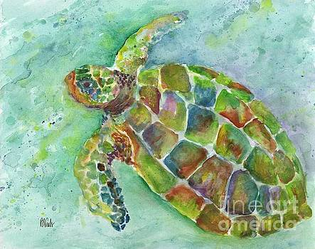 Island Turtle by Bev Veals