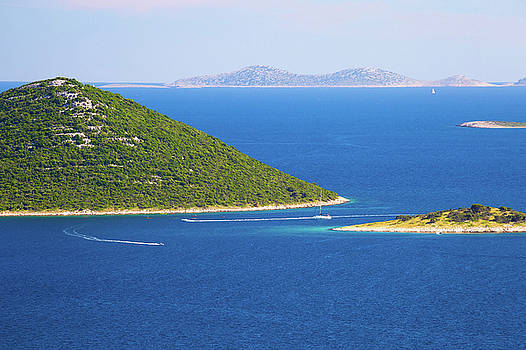 Islands of Kornati national park view by Dalibor Brlek
