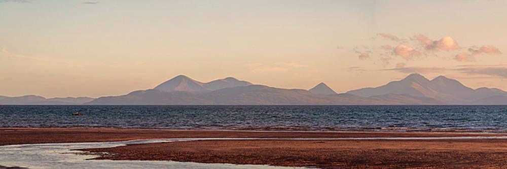 Isle of Skye From Applecross Panorama by Derek Beattie