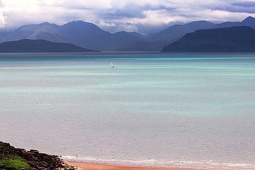 Isle of Skye from Applecross Peninsula by Derek Beattie