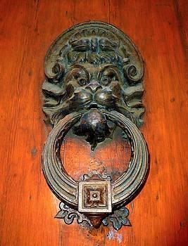 Italian Door Knocker by Jen White