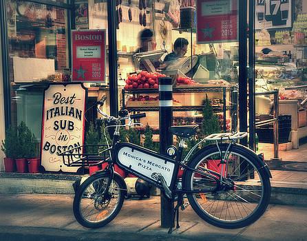 Italian Sub Shop - Monica's Mercato - Boston North End by Joann Vitali