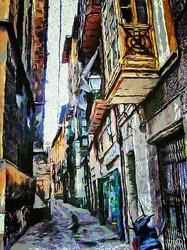 Italian street by Gun Legler