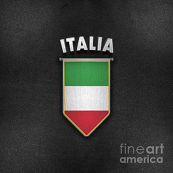 Italy Pennant with high quality leather look by Carsten Reisinger