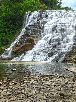 Judy Hall-Folde - Ithaca Falls