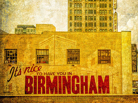 It's nice to have you in  to Birmingham by Phillip Burrow