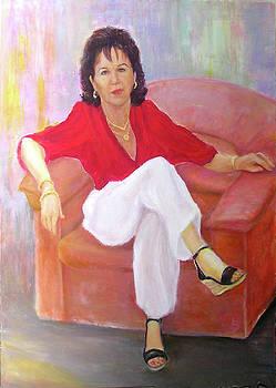 Itta's portrait by Sylva Zalmanson