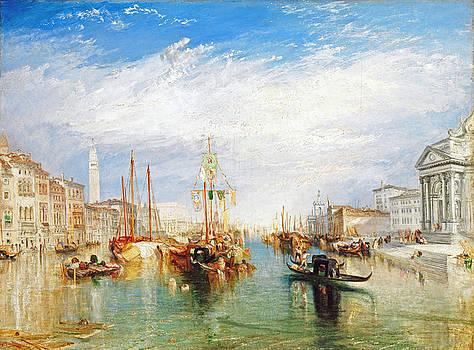 J M W Turner Venice Grand Canal by Bishopston Fine Art