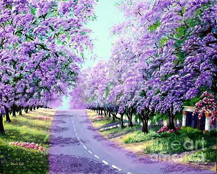 Jacaranda Road by Ursula Reeb