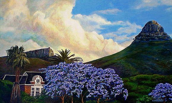 Michael Durst - Jacaranda Under Lion