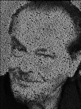 Jack Nicholson Quotes Mosaic by Paul Van Scott