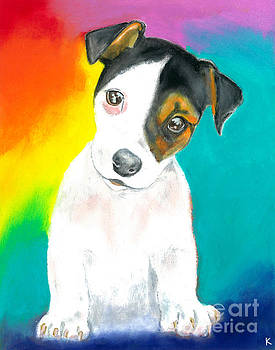 Jack Russell Puppy by Aaron Koster