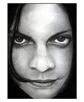 Jack White Original Pencil Drawing by Debbie Engel