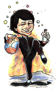 Jackie Chan Drunken Master by John Ashton Golden