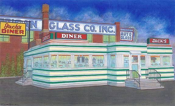 Jack's Diner by David Hinchen