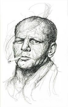 Jackson Pollock by Michael  Volpicelli