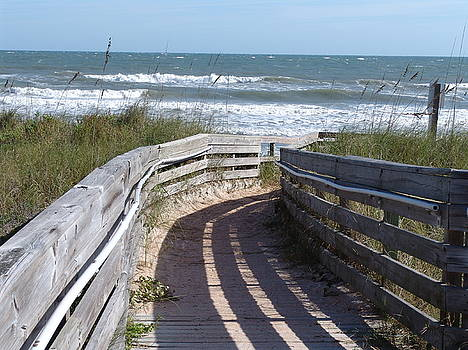 Jacksonville Beach by Celeste Nagy