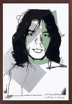 Jagger Fs II.138 by Andy Warhol