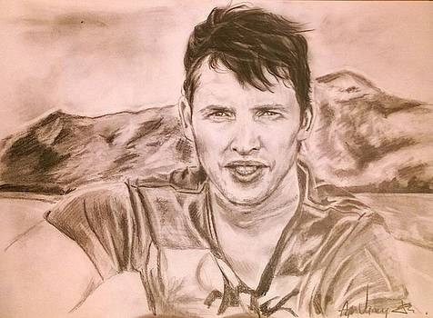 James Blunt portrait by Agnes V