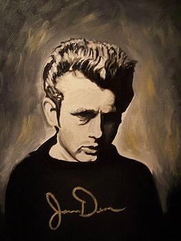 James Dean by Mikayla Ziegler