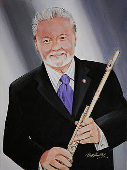 James Galway by Bill Dunkley