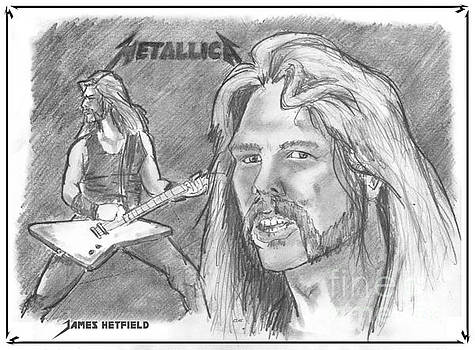Chris  DelVecchio - James Hetfield black