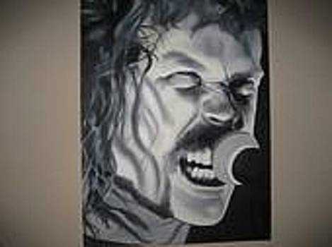 James Hetfield  Metallica by Brandon Ramquist