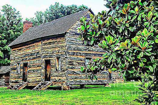 James K. Polk Boyhood Home by Bob Pardue