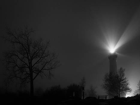 January Fog by CJ Schmit