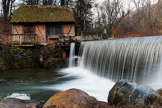 January Morning at Gomez Mill #2 by Jeff Severson