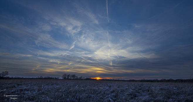 January Sunset by Greg Weseman