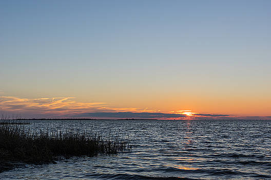 January Sunset by Gregg Southard
