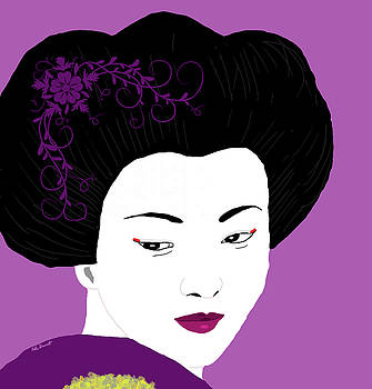 Japanese Geisha 3 by Kate Farrant