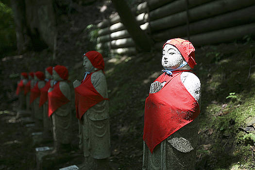 Japanese statues by Marcus Best