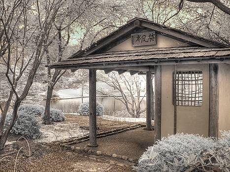 Japanese Tea House by Jane Linders